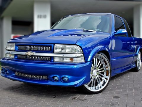 loaded 2001 Chevrolet S 10 Chrome custom truck for sale