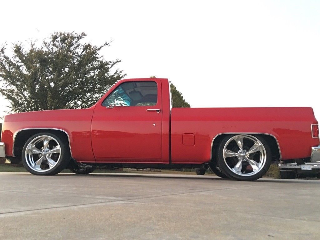 restomod 1985 Chevrolet C 10 Custom Deluxe