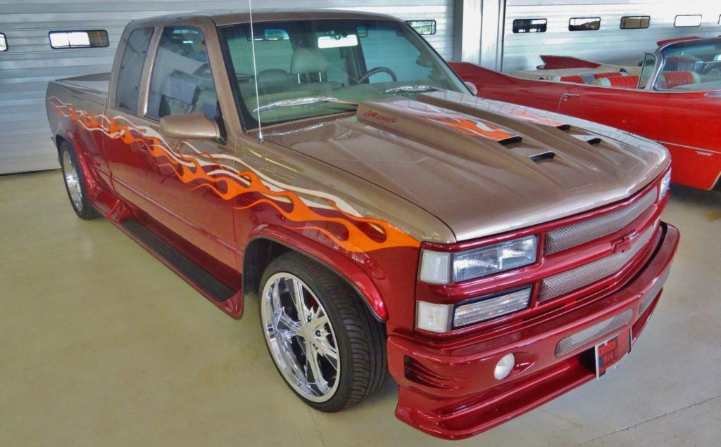 unique badass 1997 Chevrolet Pickups C1500 Silverado custom