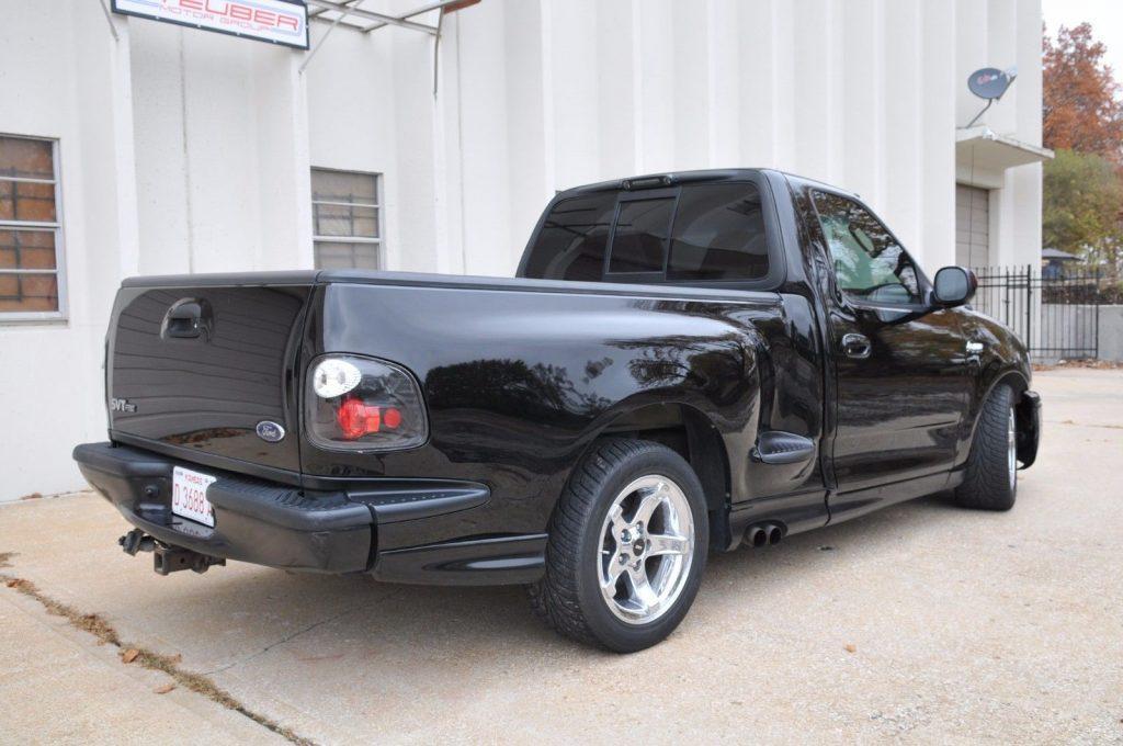 upgraded 2002 Ford F 150 Lightning custom truck