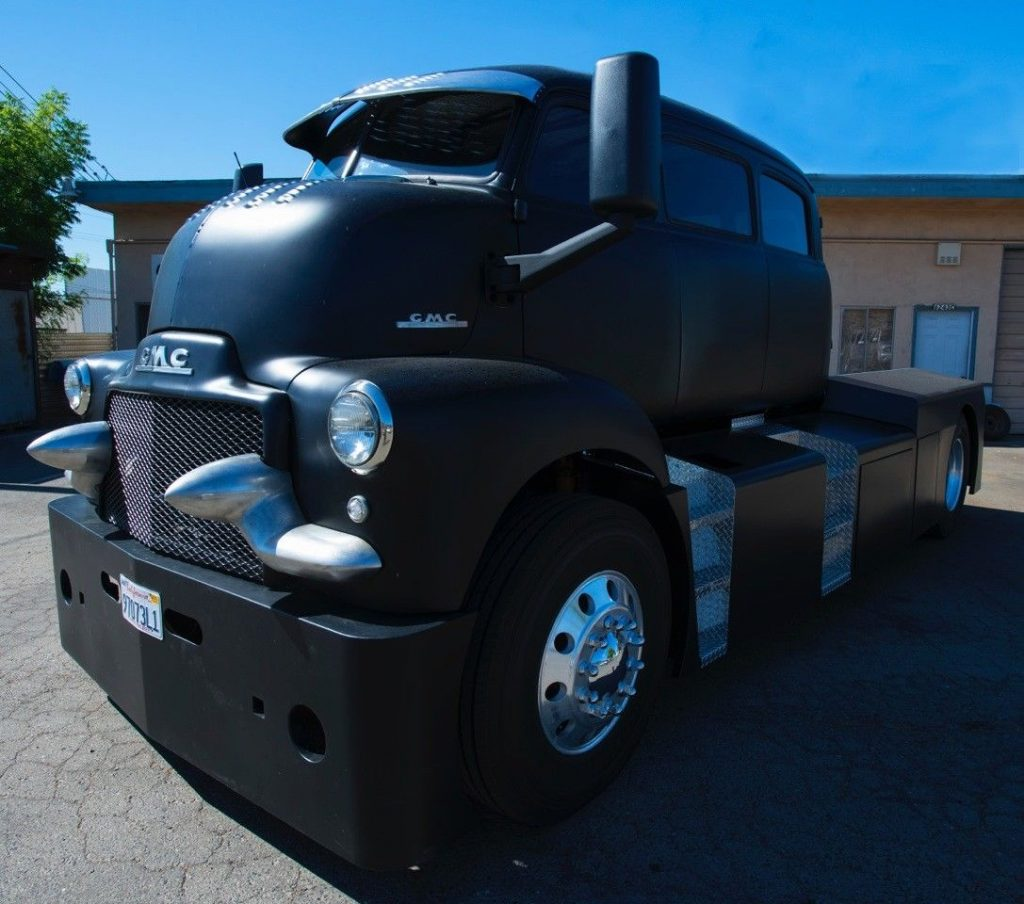 badass cabover 1948 gmc custom truck for sale. Black Bedroom Furniture Sets. Home Design Ideas