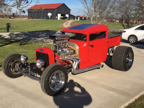 bored over engine 1930 Ford Model A Truck custom for sale