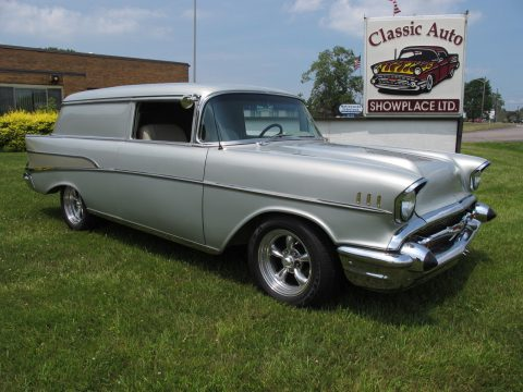 detailed restoration 1957 Chevrolet Sedan Delivery Custom truck for sale