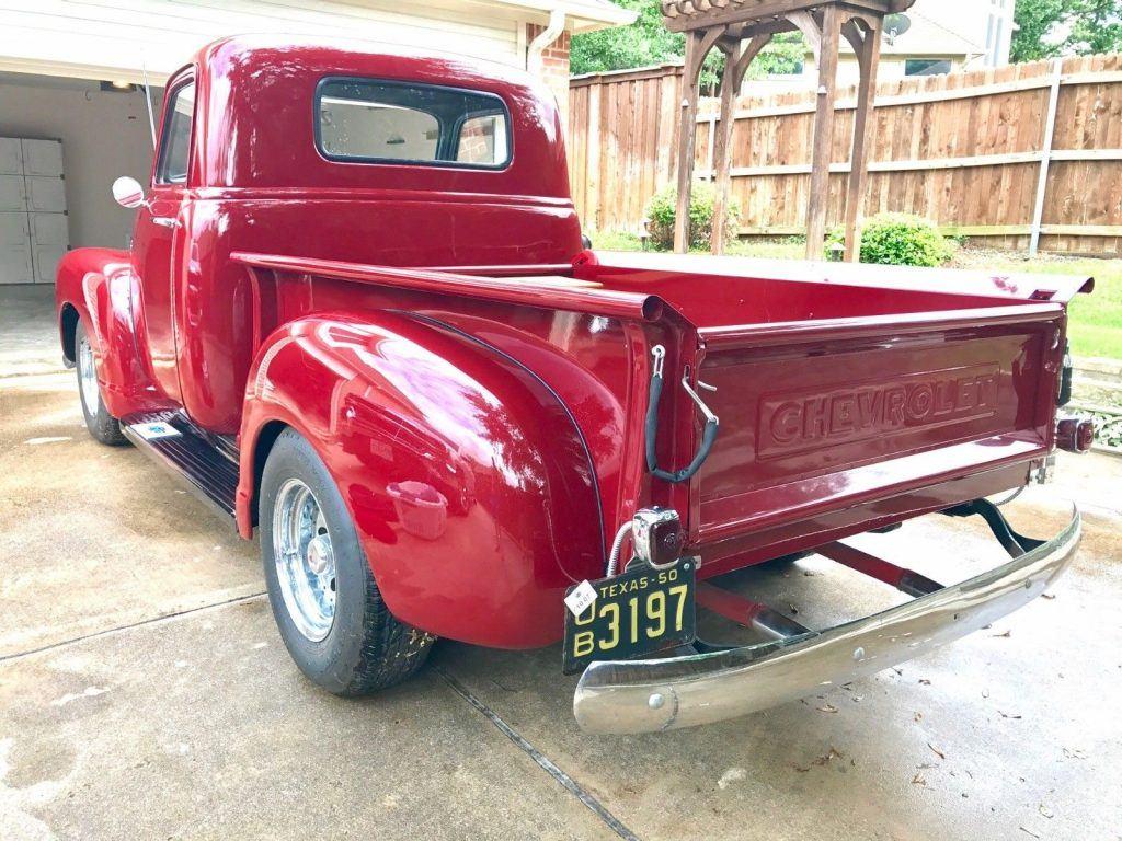 frame off restored 1950 Chevrolet Pickups custom