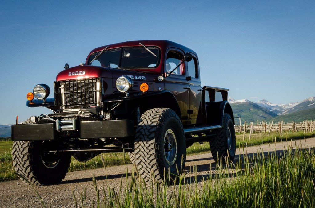Legacy edition 1949 Dodge Power Wagon custom