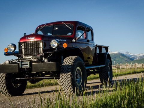 Legacy edition 1949 Dodge Power Wagon custom for sale