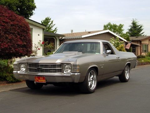 mag wheels 1971 Chevrolet El Camino custom truck for sale