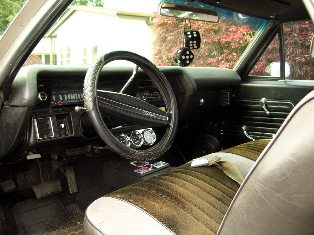 mag wheels 1971 Chevrolet El Camino custom truck