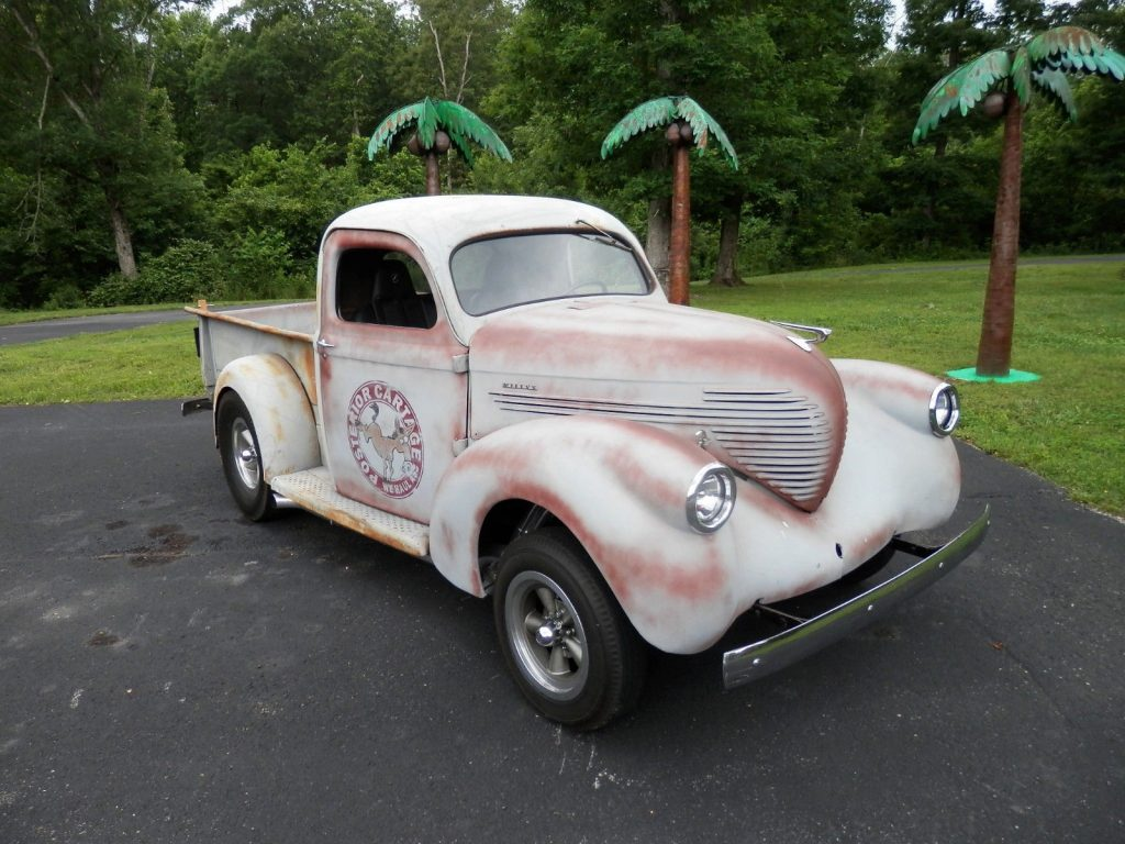 rare 1937 Willys 4 63 Pickup custom pickup