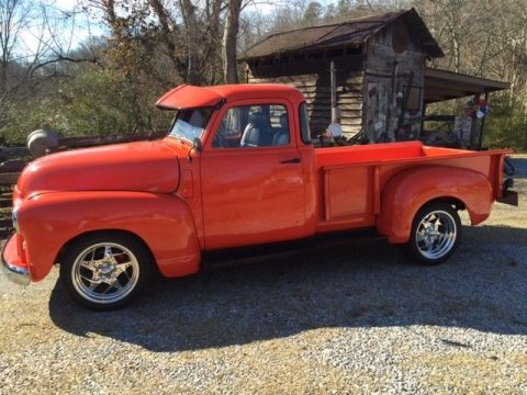 rare 1950 GMC custom pickup for sale