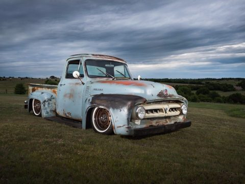 recently completed 1953 Ford F 100 custom truck for sale
