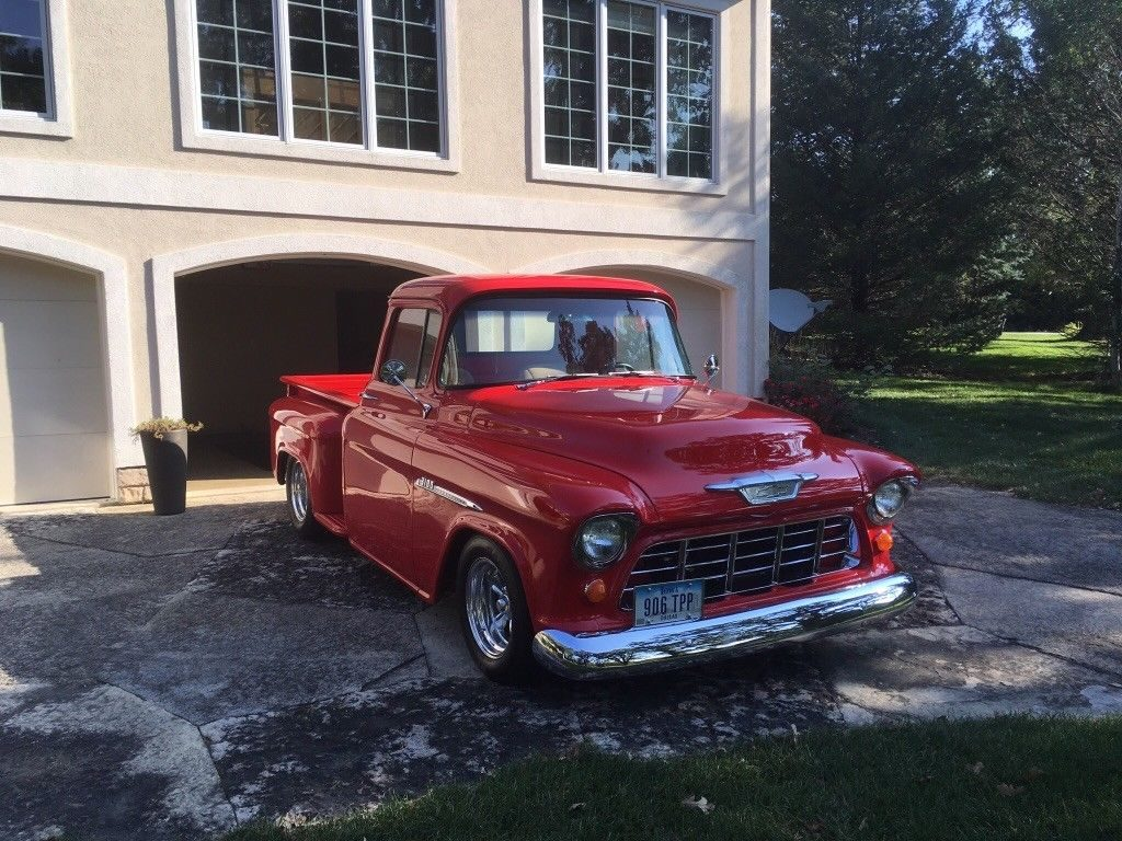 restored 1955 Chevrolet Pickups 3100 custom