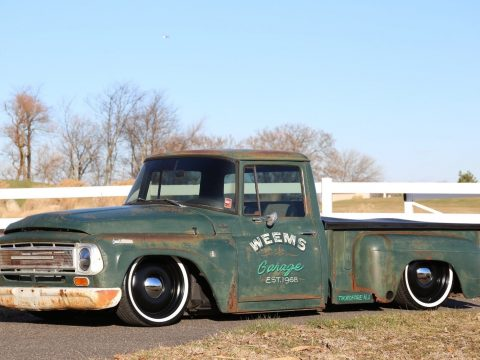 air ride 1964 International Harvester 1000 Patina custom truck for sale