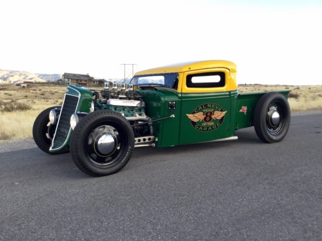 badass 1936 International Harvester pickup custom