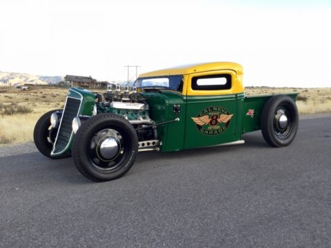 badass 1936 International Harvester pickup custom for sale