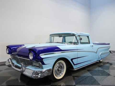 classy 1957 Ford Ranchero custom pickup for sale