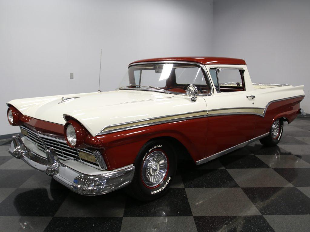 custom engine 1957 Ford Ranchero custom truck