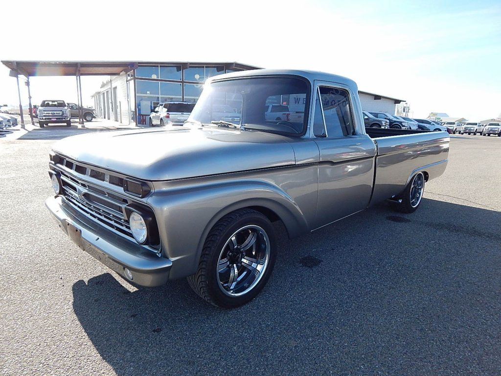 immaculate 1966 Ford F 100 custom truck