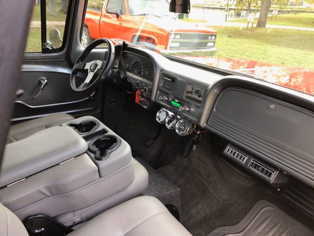newer built 1963 Chevrolet C 10 Custom truck