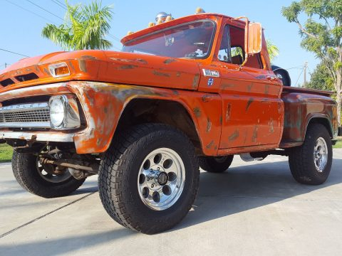newer engine 1965 Chevrolet CK custom truck for sale