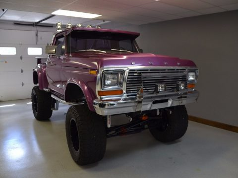 one of a kind 1979 Ford F 150 Stepside lifted custom for sale