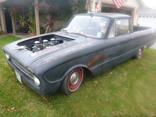 ratrodded 1960 Ford Ranchero custom pickup