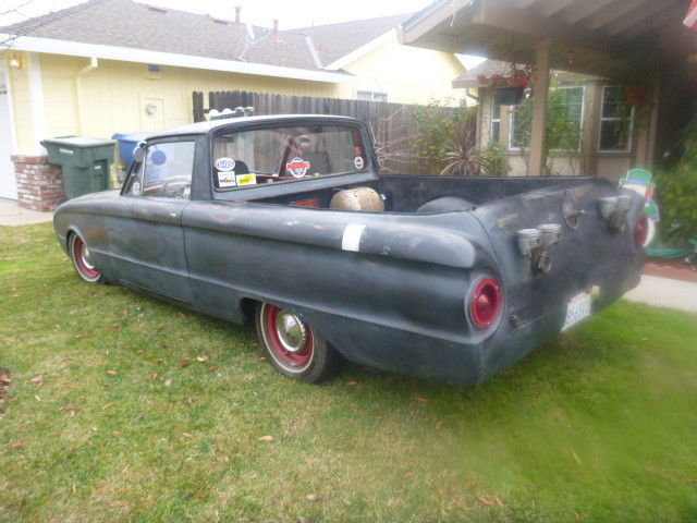 ratrodded 1960 Ford Ranchero custom pickup