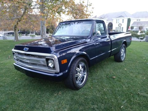 rust free 1970 Chevrolet C 10 custom pickup for sale