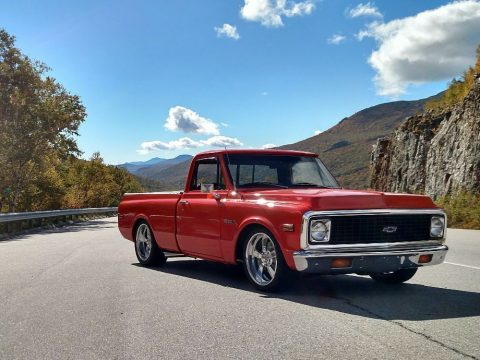stroker powered 1972 Chevrolet C 10 custom pickup for sale