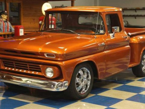 very nice 1962 Chevrolet C 10 Stepside custom truck for sale