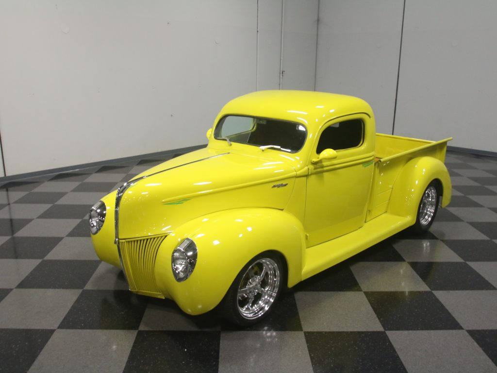 Chevy engine 1940 Ford Pickups custom