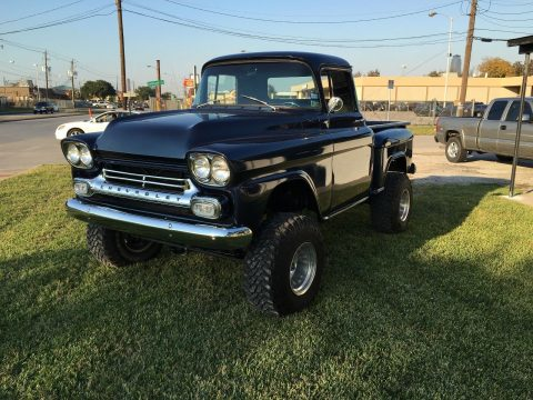 completely redone 1958 GMC pickup custom for sale
