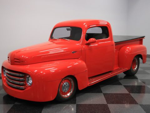fuel injected 1950 Ford F 100 custom pickup for sale