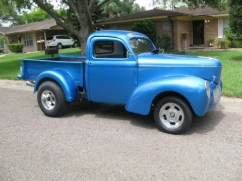 low miles 1940 Willys 440 custom truck for sale