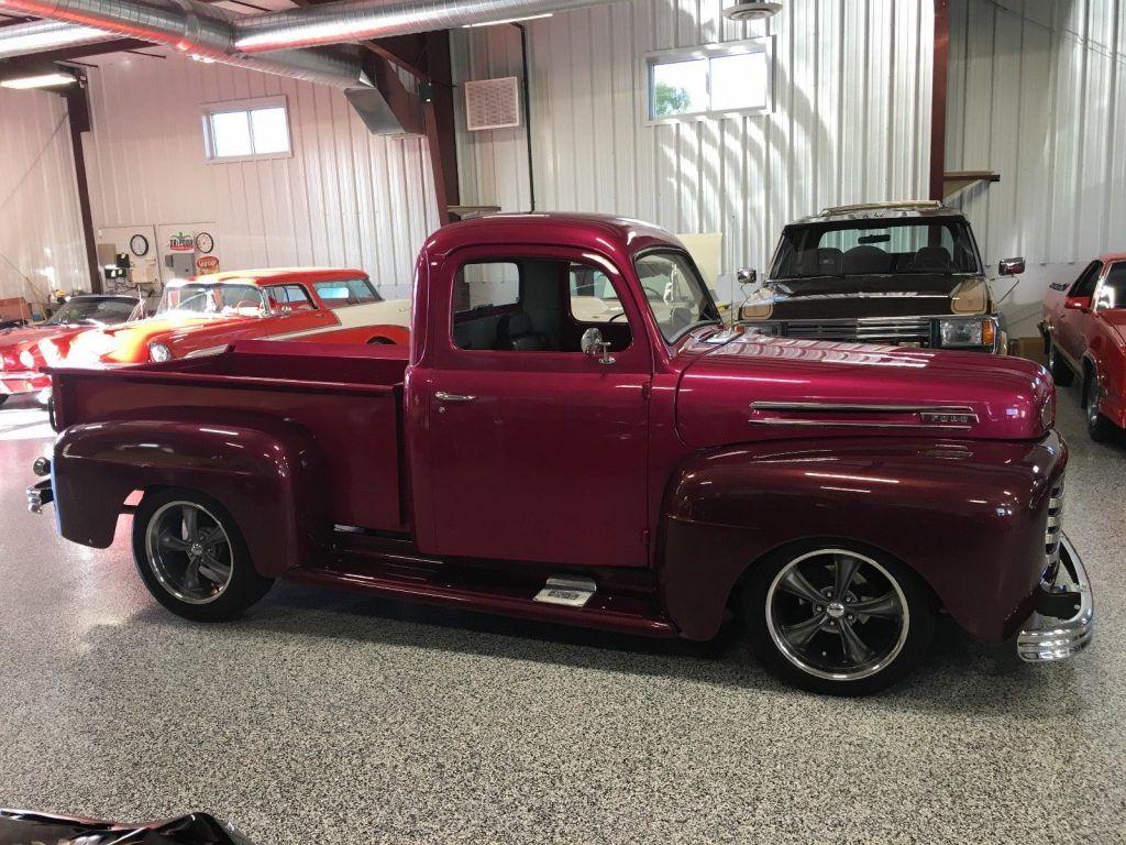 mopar engine 1948 Ford Pickups Short Bed custom truck