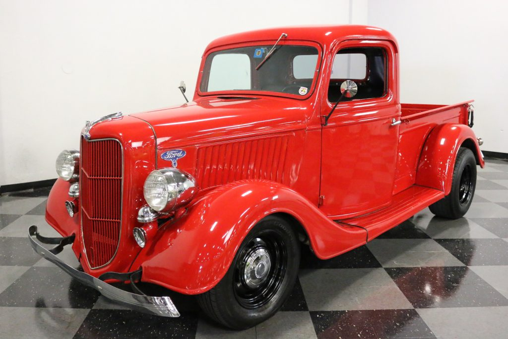 newer engine 1936 Ford 1/2 Ton Pickup custom