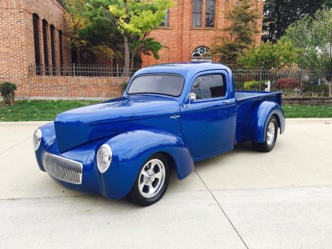 newer frame 1941 Willys 441 custom pickup for sale
