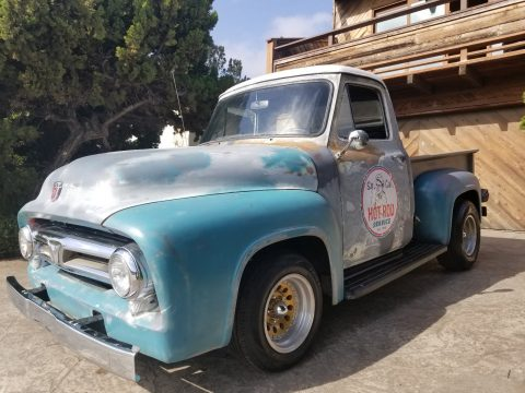 nice patina 1953 Ford F 100 Custom Cab custom for sale