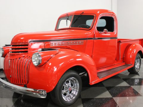 replaced engine 1946 Chevrolet 3100 1/2 Ton custom for sale