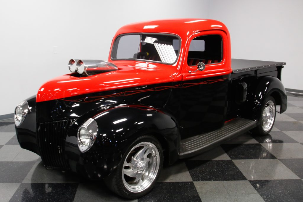 supercharged 1940 Ford Pickups custom