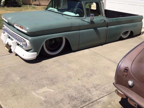 badass kustom 1963 Chevrolet C 10 Fleetside custom truck for sale