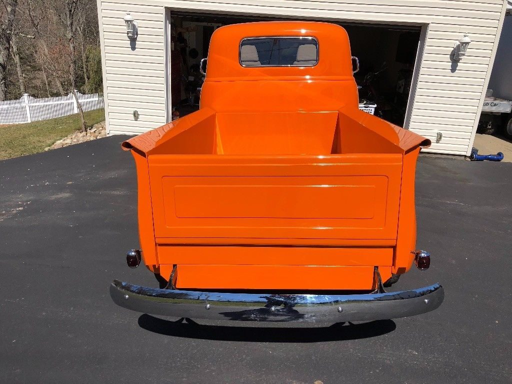 disc brakes 1950 Chevrolet COE pickup custom