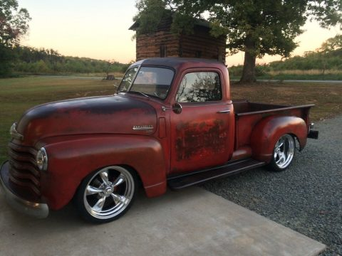 great patina 1950 Chevrolet 3100 custom truck for sale