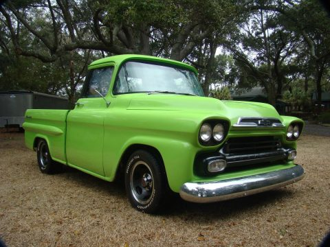 new exhaust 1959 Chevrolet Apache Custom pickup for sale