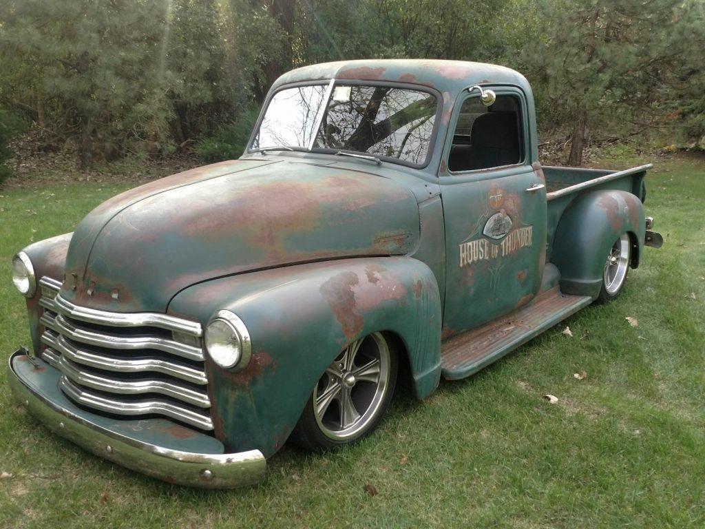 original patina 1950 Chevrolet Pickups custom