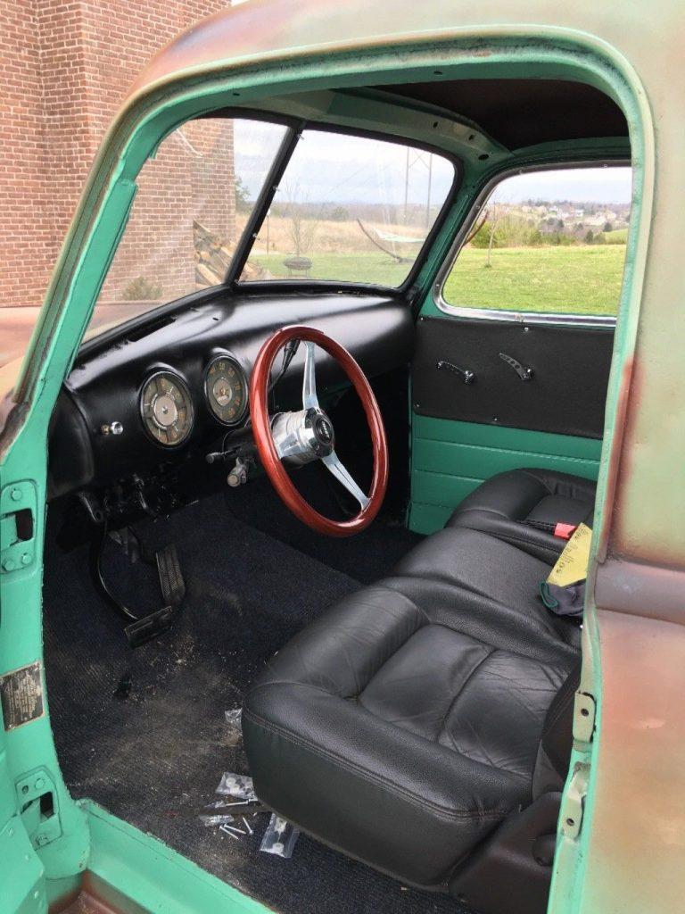 rat rod 1950 Chevrolet Pickup custom