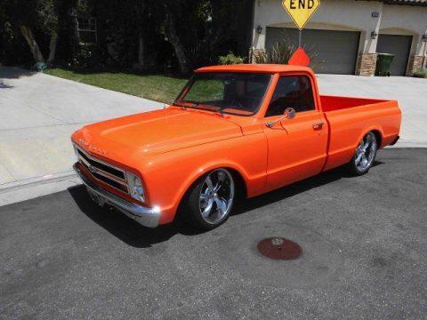 rebuilt engine 1967 Chevrolet C 10 custom truck for sale