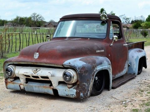 badass patina 1954 Ford F 100 custom for sale