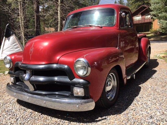 blown 350 badass 1955 Chevrolet Pickups custom