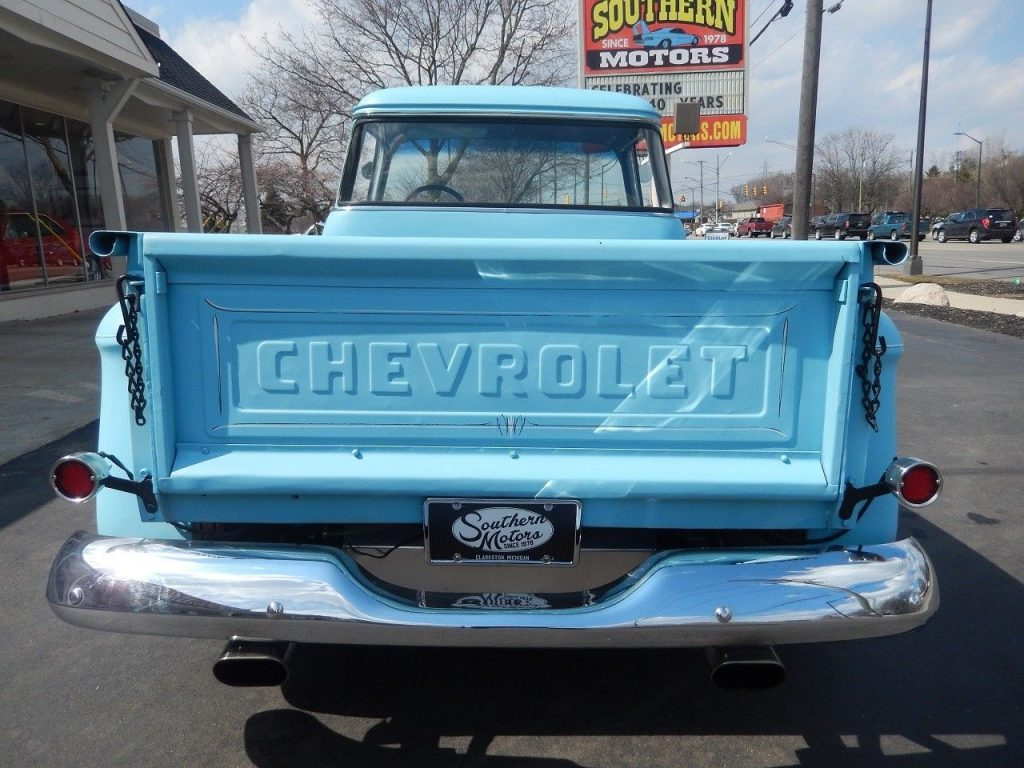 crate engine 1956 GMC 3100 custom truck